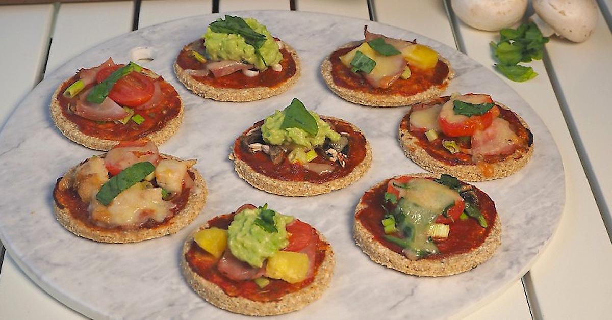 Mini Pizzas – Allergy Friendly