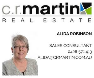 Alida RobinsonSales Consultant0428 571 413alida@crmartin.com.au