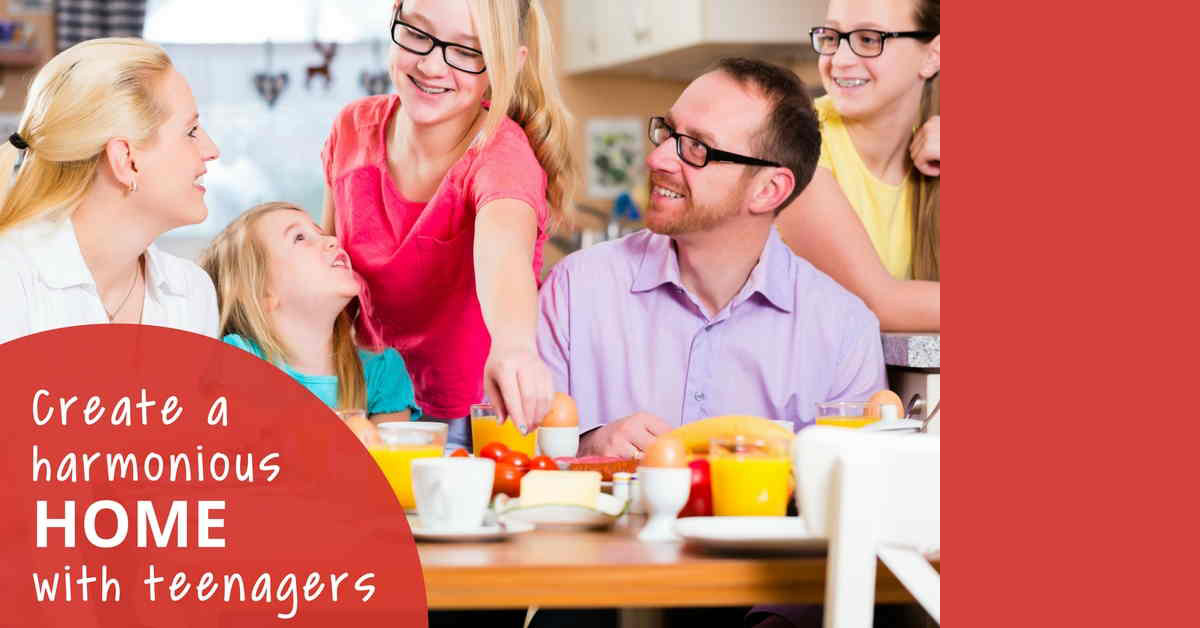 How to create a harmonious home with teenagers