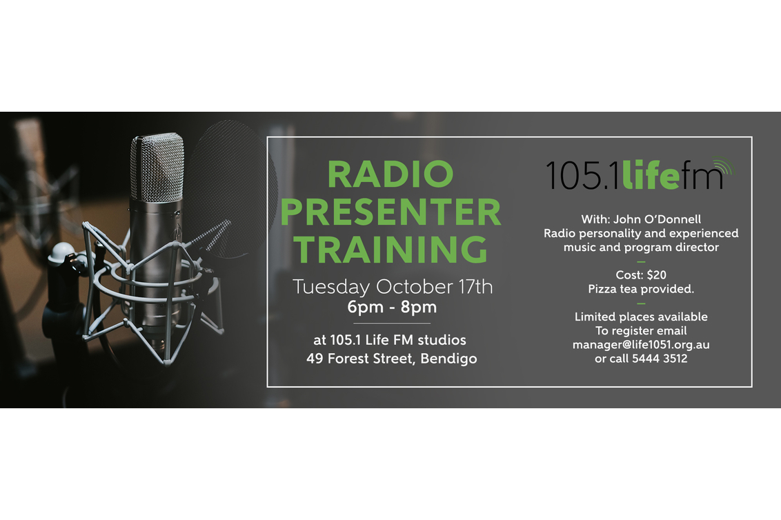 On Air Presenter Training