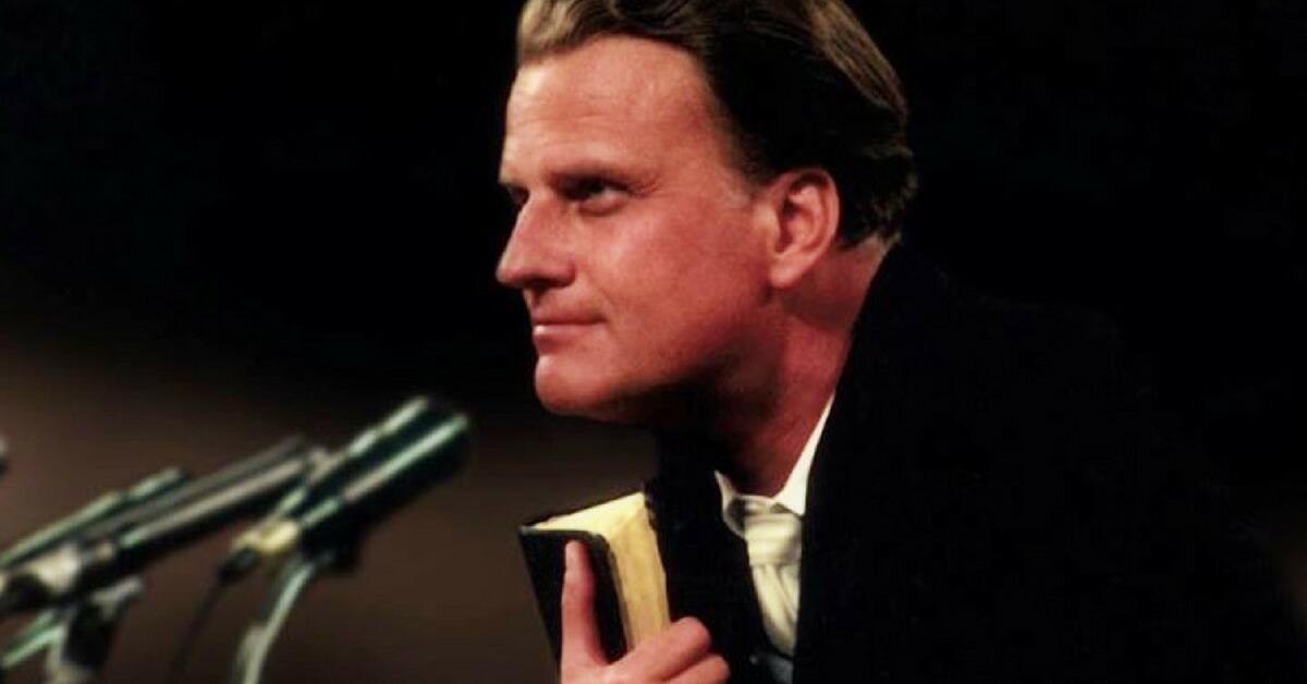 Farewell, Billy Graham – Fiery US Gospel Preacher who Put Brakes on Australia's Crime Rates