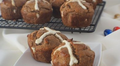 paleo hot cross bun-2