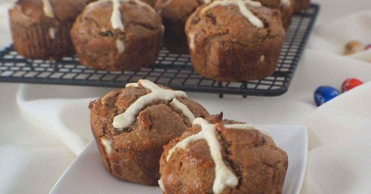 Paleo Hot Cross Muffin-Buns