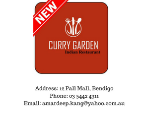 Address_ 12 Pall Mall, Bendigo, Vic 3550Phone_ 03 5442 4311Email_ amardeep.kang@yahoo.com.au