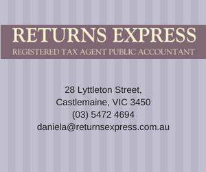 28 Lyttleton Street,Castlemaine, VIC 3450(03) 5472 4694daniela@returnsexpress.com.au