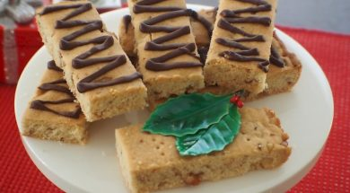 pecan shortbread fingers