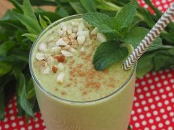 spearmint smoothie-2