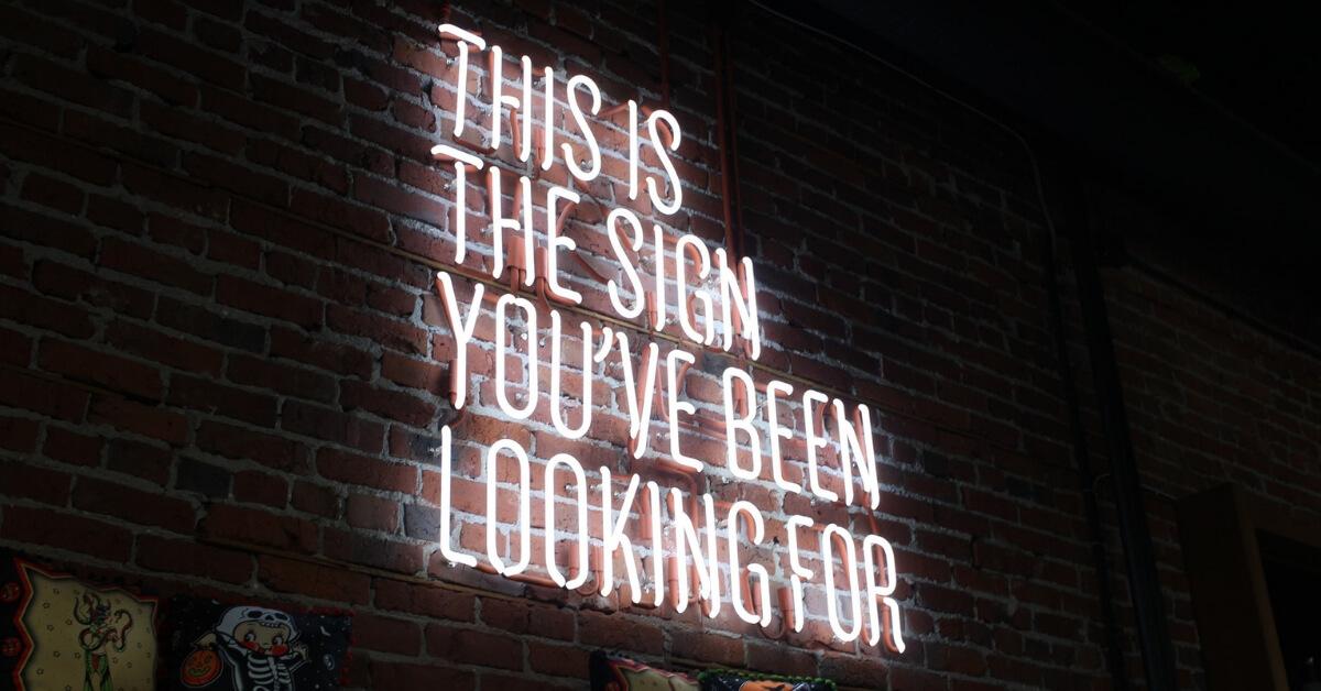 When You're Not Sure It's God, Is It Ok to Ask for a Sign?