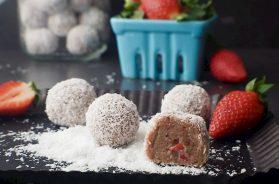 strawberry shortcake bliss balls-2