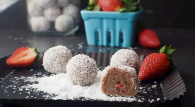 strawberry shortcake bliss balls-2