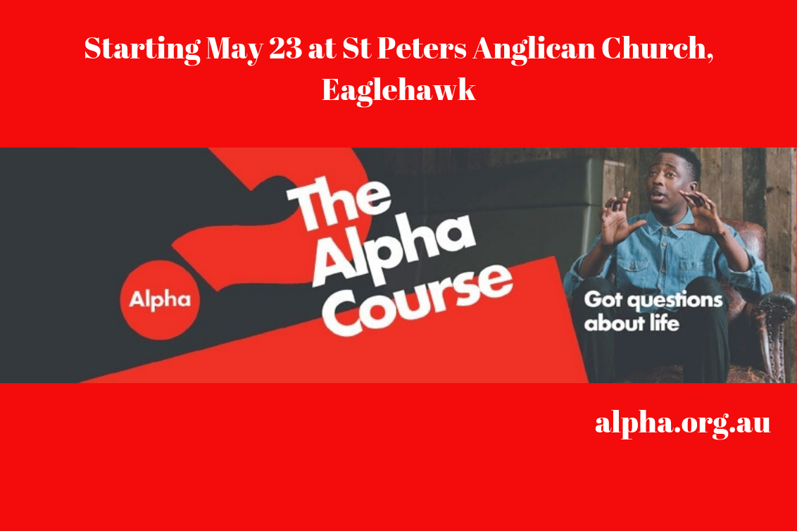 Alpha Course Starting Soon