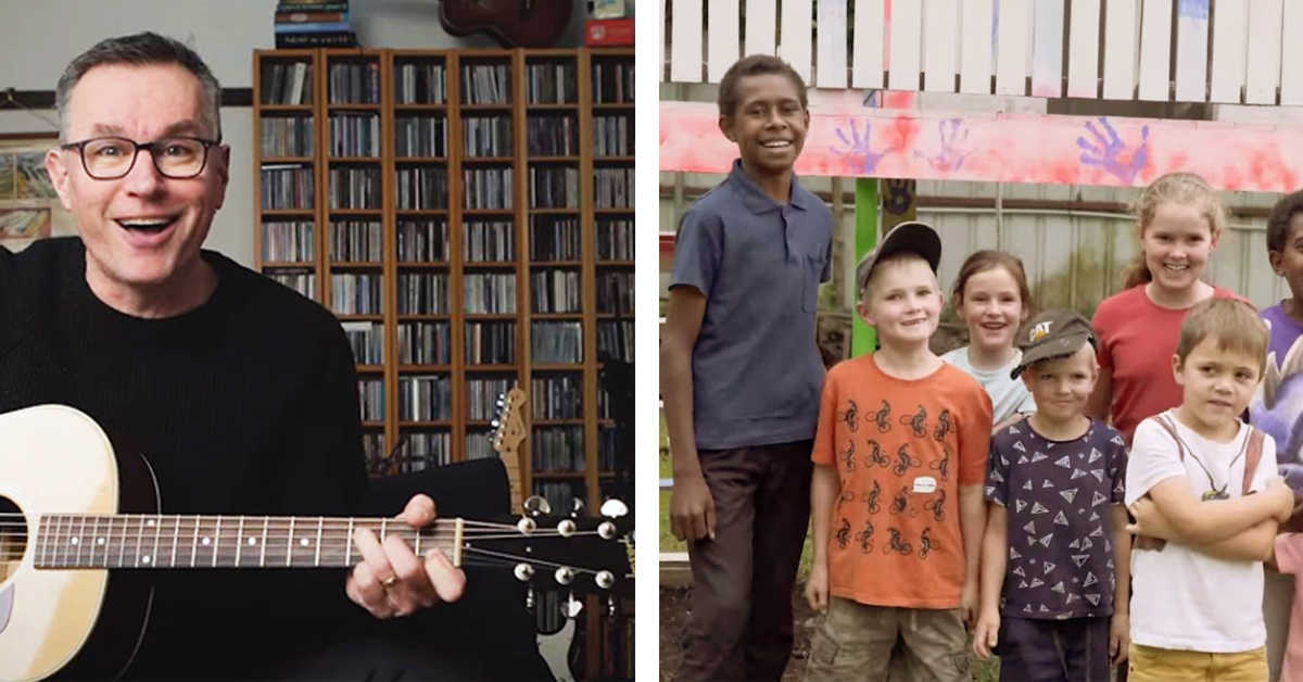 """Adorable """"MAF Kids"""" Star in Colin Buchanan's Latest Song, for Dads"""