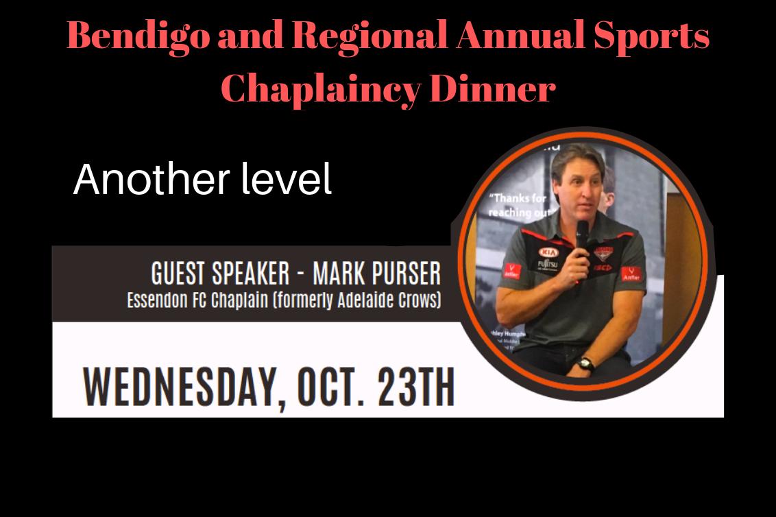 Annual Sports Chaplaincy Dinner