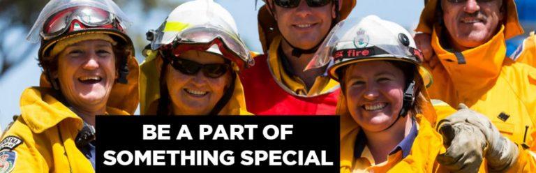 fire fighting volunteers