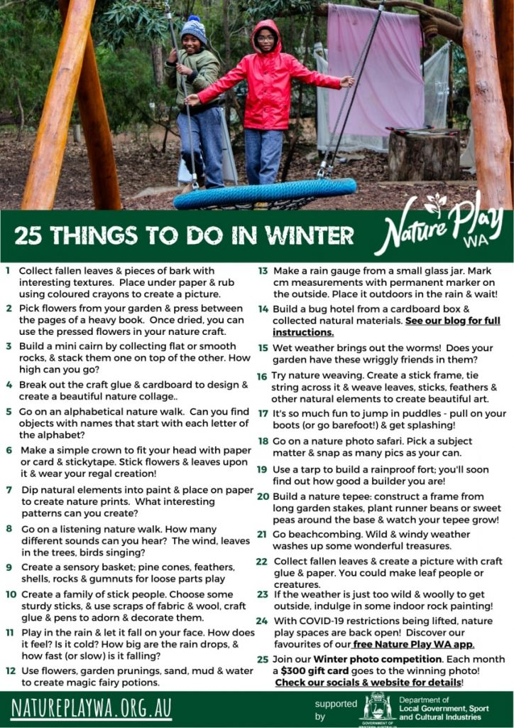 25 new things to do in winter june 2020