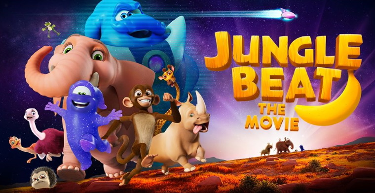 promo graphic for the jungle beat movie