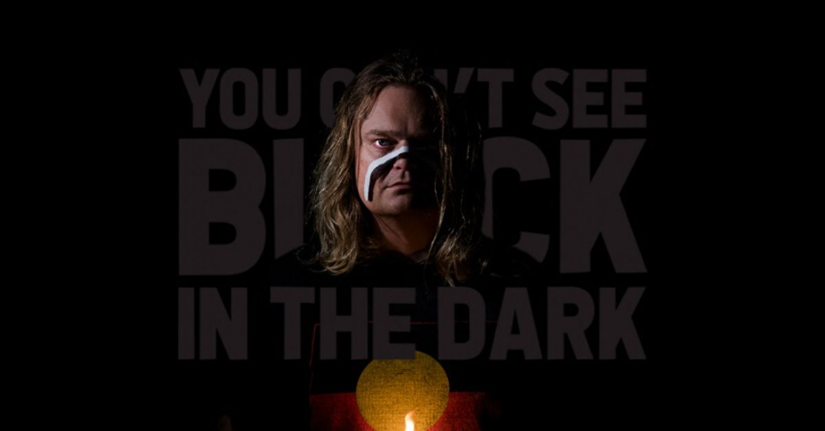 You Can't See Black In The Dark: New Music from Scott Darlow